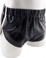 Rubber Shorts Red Saddle