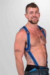 Neo Heckler Harness Blue