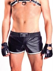 Mister B Leather Sports Shorts