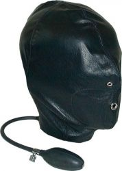 Leather Inflatable Hood (Seconds) (Small Size)