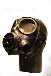 S10 Gas Mask with Rubber Hood (Screw Fit)
