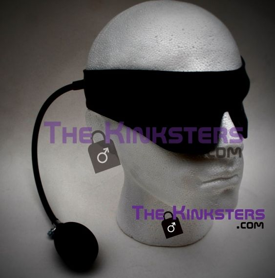 Inflatable Rubber Blindfold