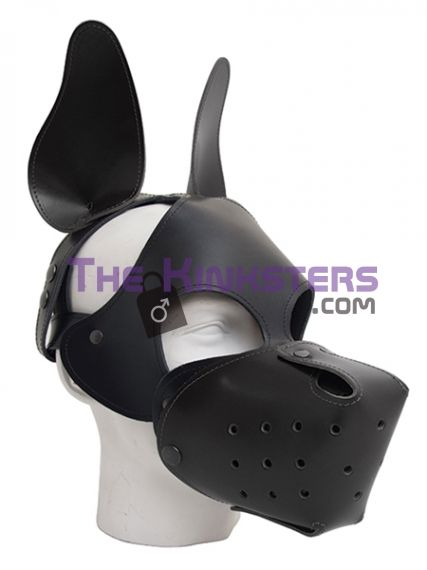 Shaggy Dog Hood Black