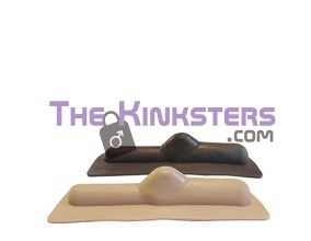 Smooth Flat Top - Chocolate - Sybian Attachment