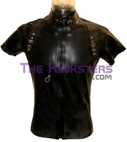 Mens Rubber Bondage T-Shirt