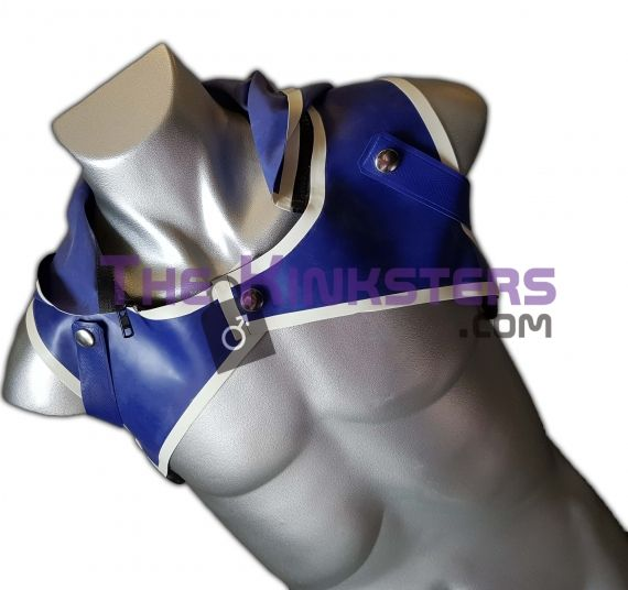 Mens Rubber Shoulder Hoody