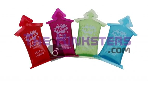 Wet 4 in 1 Flavors Selection Pack