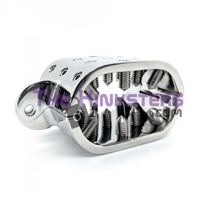 Stainless Steel Oval Spiked Ball Stretcher