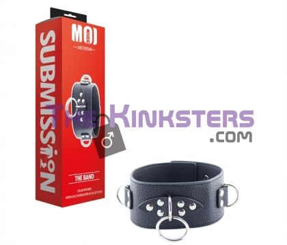 MOI The Band Collar with D-Rings