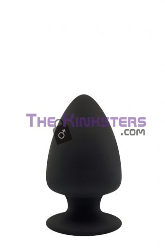 Premium Thermo Reactive Silicone Butt Plug Small