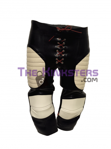 Mens Champion Rubber Baseball Shorts with White & Red Detail
