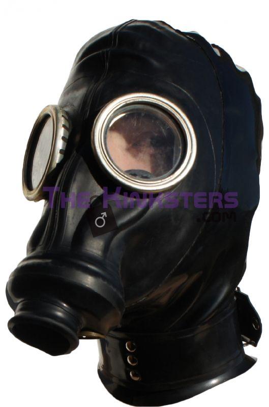 Russian Gas Mask Bondage Hood