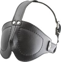 Deluxe Blindfold with Straps