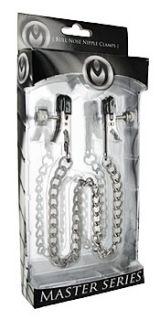 OX Bull Nipple Clamps and Chain
