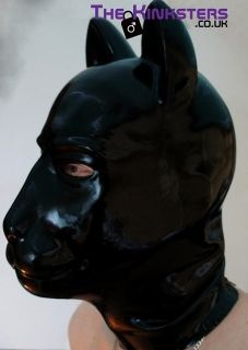 Rubber Puppy Hood