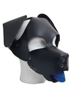 Floppy Ears Dog Hood Black