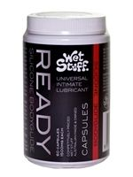 Wet Stuff Ready Lubricant Capsules 18 pcs
