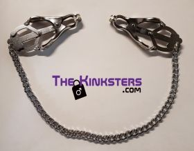 Silver Clover Nipple Clamps