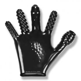 Finger Fuck Textured Glove