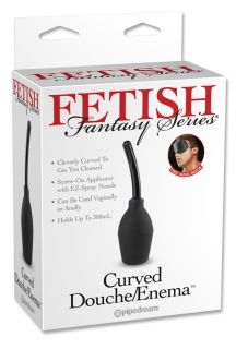 Curved Douche Enema Set