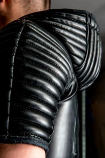 Mens Rubber Bondage Suit