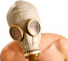 **SPECIAL OFFER** Russian Gas Mask Grey