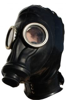 Russian Gas Mask Bondage Hood