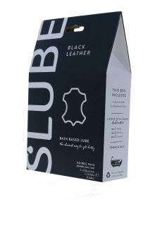 Slube Black Leather Double Pack