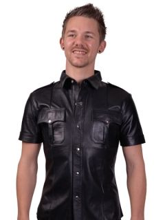 Mr. B Leather Police Shirt
