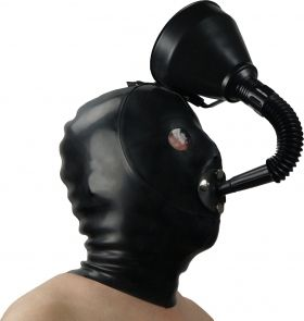 Heavy Rubber Funnel Hood