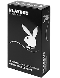 Playboy Lubricanted Classic Condoms 12 Pack