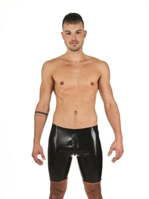Mister B Rubber Fucker Shorts Red