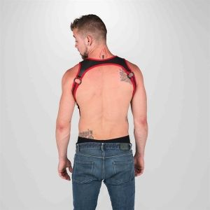 Neo Heckler Harness Red