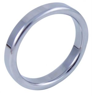 MOI Mr. Pristine 45 Stainless Steel Cock Ring