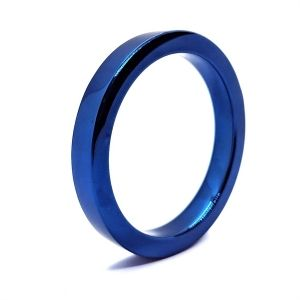 Blueboy Stainless Steel Flat Cockring 50mm