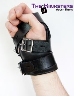 Leather Wrist Suspension Cuffs