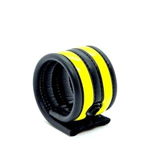 Neoprene Racer Ball Strap Yellow