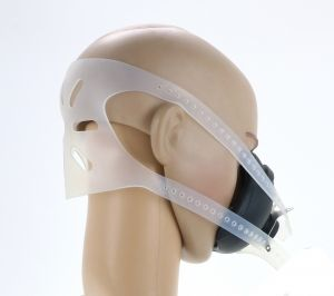Anaesthetic Mask with Clear Heavy Duty Harness (Push Fit)