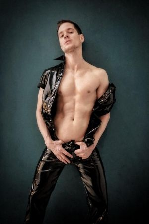 Mr Riegillio PVC Trousers