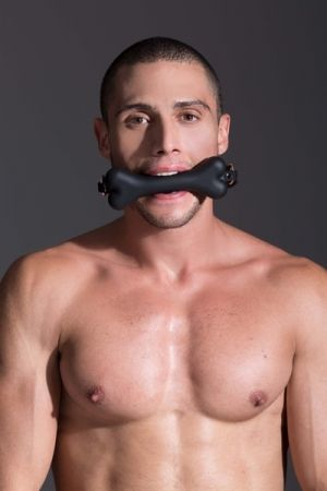MOI Bad Bone Gag Black