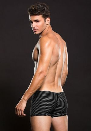 Envy Pinstripe Low Rise Boxer Shorts