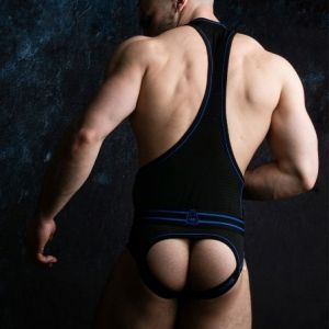 Locker Gear Bottomless Singlet Blue