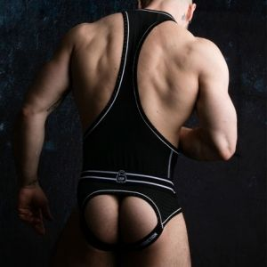 Locker Gear Bottomless Singlet White