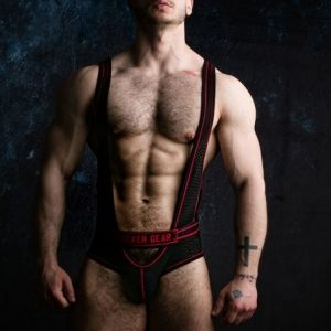 Locker Gear Bottomless Singlet Red