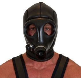Neoprene Gas Mask (Screw Fit)