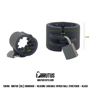 Brutus Lockable Silicone Ball Stretcher