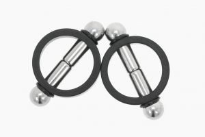 Magnetize Nipple Clamps Black