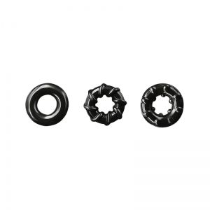 Renegade Dyno Cock Rings Black